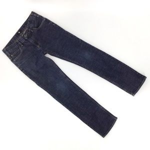 DC Kids Big Boys' Slim Dark Blue Denim Jeans, 26